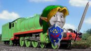 Henry as Link