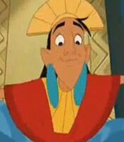 Kuzco in Kronk's New Groove