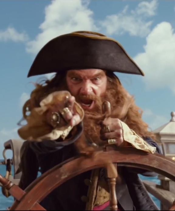 Burger-Beard the Pirate