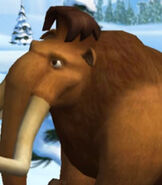 Manny in Ice Age - Artic Blast