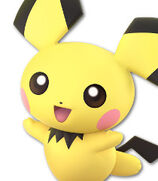 Pichu in Super Smash Bros. Ultimate