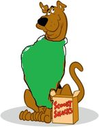 Scooby as alvin