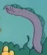Simpsons Giant Moray Eel