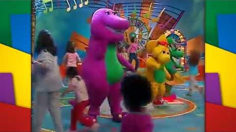 Sing Along with Barney Dino Dance