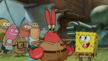 Spongebob and krabs stopped plankton