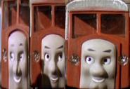 The Horrid Lorries as Hoodlums.