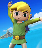 Toon Link in Super Smash Bros. for Wii U and Nintendo 3DS