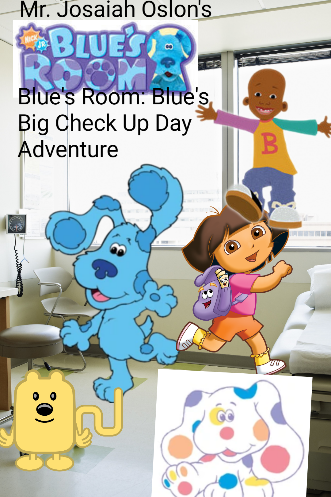 Blue's Room: Blue's Big Check Up Day Adventure