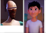 Frozone and Din