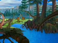 Mamenchisaurus in TLBT