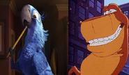 Rex and Blu