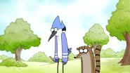 Sad Mordecai and Rigby
