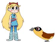 Star meets Lammergeier