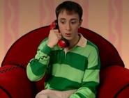 Steve Burns on phone