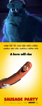 Sulley Hates Sausage Party (2016)