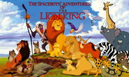 The Spacebots' Adventures of The Lion King