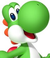 Yoshi in Mario Party 9