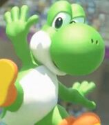 Yoshi in Mario and Sonic at the London 2012 Olympic Games