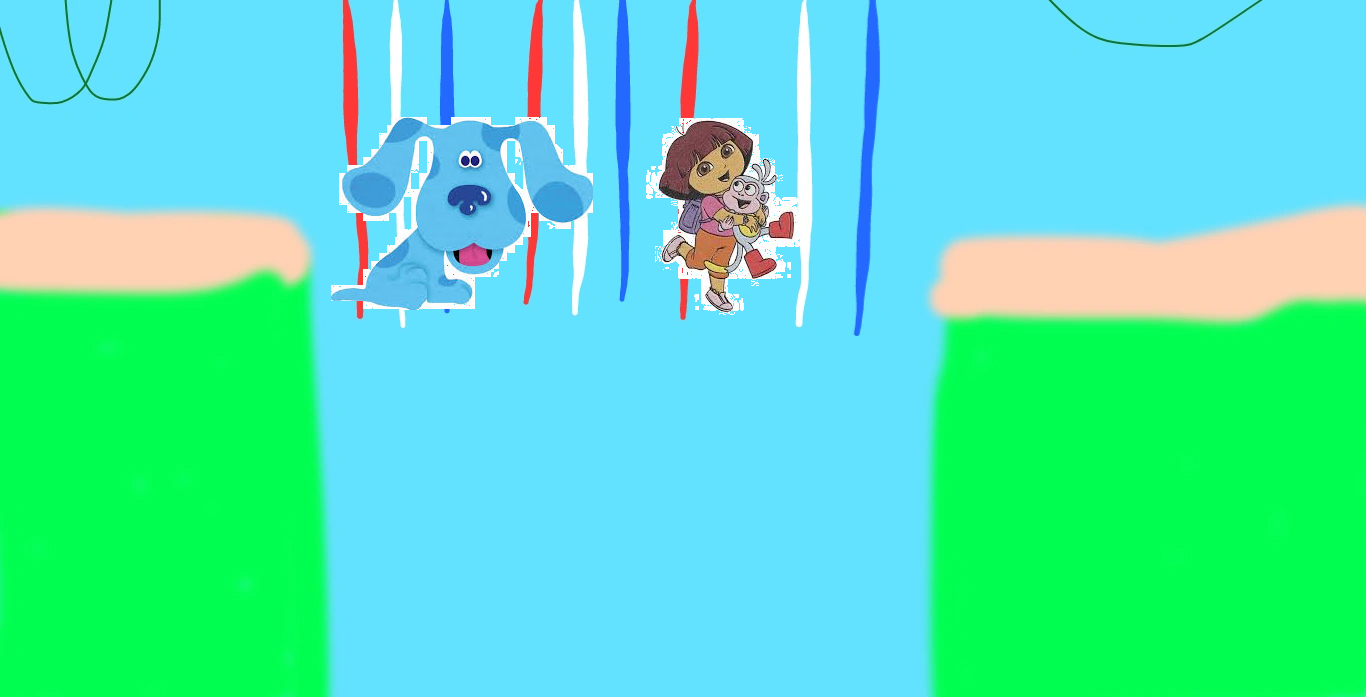 Blue's Clues: Dora and Boots Babysit Blue