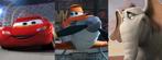 Lightning McQueen, Dusty Crophopper and Horton