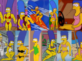 Marge Simpson in Swimsuits and Bikinis
