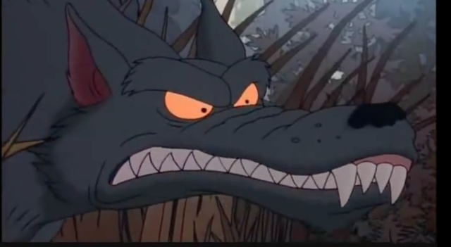 Scar Snout the Wolf (The Rugrats Movie)