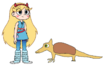 Star meets Giant Armadillo