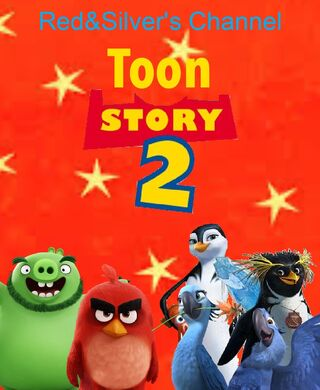 Toon Story 2 (1999; Red&Silver's Channel) Movie Poster.jpeg