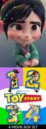 Vanellope Loves Toy Story Quadrilogy