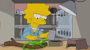 Lisa and lizard