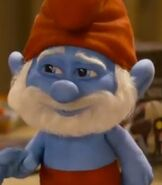 Papa Smurf in The Smurfs