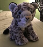 Scruffy the Snow Leopard