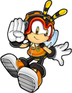 Sonic Channel Charmy transparent
