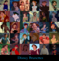 Walt Disney Brunettes