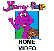 Barney and Dora Logo version 1