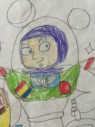 Buzz Lightyear in Superhero Buttercup 2