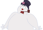 Frosty the Snowman screaming