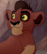 Kovu (Young) in The Lion Guard