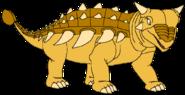 Soleil Spacebot ankylosaurus form thelandbeforetime in thespacebotsadventuresseries