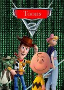 Toons 2 (Cars 2) (Charlie BrownRockz Style) Movie Poster