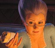 145315730-Fairy Godmother Shrek2 nails 3579