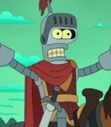 Bender Bending Rodríguez in Futurama- Bender's Game