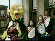 Big Bird, Telly and the Kids as Countketeers episode 3797