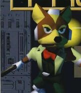 Fox McCloud in Star Fox 64