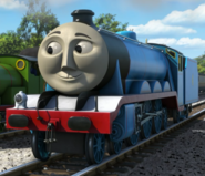 Gordon the express engine as Dr.Laker