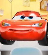 Lightning McQueen in Cars - Fast as Lightning