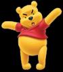 Mad pooh bear
