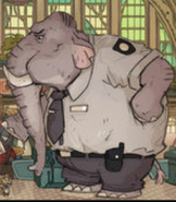 Zootopia Asian Elephant