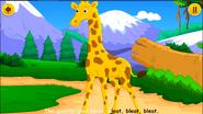 Animal Sounds Song Giraffe