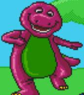 Barney in Barney's Hide & Seek Game
